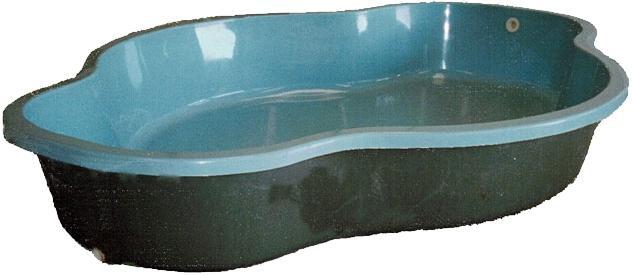 Piscinas de fibra piscina de poliester piscinas de for Estanque prefabricado tortugas