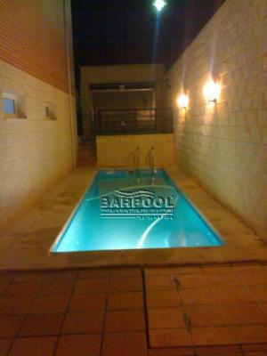 Casas cocinas mueble piscinas medidas Diseno de piscinas en espacios reducidos