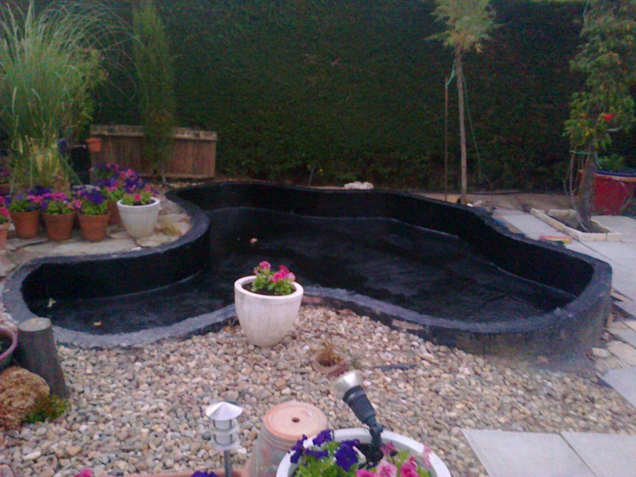 Revestimiento de estanques con prfv jardines de for Estanques de fibra de vidrio