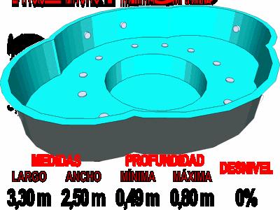 Barpool piscinas prefabricadas de poliester reforzadas for Estanque prefabricado rectangular