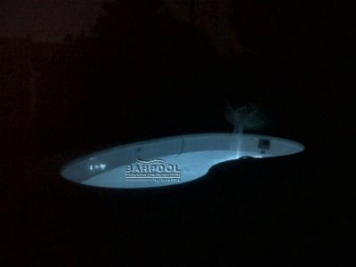 Piscinas Modelo R-50 por la Noche