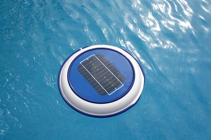 Lampara Solar Flotante Piscinas